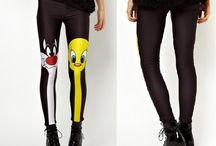 spodnie legginsy damskie