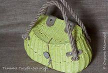 сумки плетеные