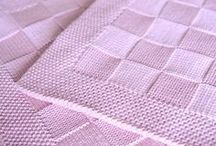 hačkované a pletené deky
