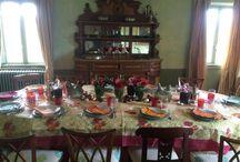 tavoli in campagna