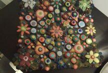 Sulatuslasityöt, Lasitaide - glass art