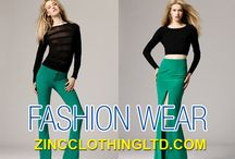 Fashion Wear / People of today are extremely style conscious and they love to opt for fashion wear. The types of available fashion wear at Zinc Clothing are quite varied and they are perfect to be used by both men and women, young and old.  http://zincclothingltd.com/product-category/womens/