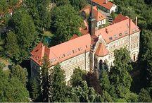 Areál Olivovy dětské léčebny v Říčanech u Prahy