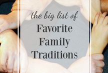Family - Traditions
