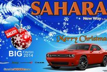 Happy Holidays From The Sahara Las Vegas Famil / To All Our Family, Friends, Customers and Fans.....We like to wish you and your family a safe and Happy Holiday Season!!