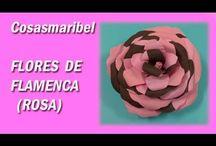 Vídeos flores de flamenca