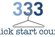 Project 333 / minimalist living
