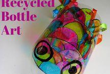 Materiál - PET láhve / Aktivity, hry a výrobky z PET lahví