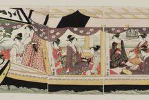 4 Ukiyo-e: Chobunsai Eishi (Hosoda Tokitomi)