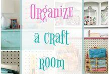 organize craft room