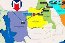 Mahmutbey-Bahçeşehir-Esenyurt metro hattı