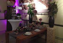 Bloemwerk Zaanse Bruidsbeurs / Verschillende mogelijkheden van bloemwerk boor een bruiloft en/of feesten en partijen