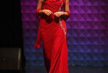 Night Dresses. / Vestidos de noche desfilados en las pasarelas de Barranquilla Fashion Week 2013.