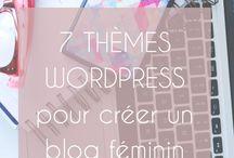 Créer un blog / Blogging, blog, blogueuse, WordPress, Blogger, entrepreneuse, entreprenariat
