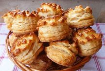 Pogácsák, egyéb sós sütik