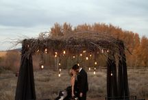 свадьбы с ветками