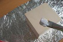 Arte com papel de alumínio
