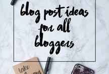 Blog témák