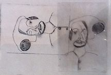 5.11.14 Pedmore College / A series of prints made by the students of Pedmore College on their visit to the gallery.