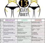 diet 13 day