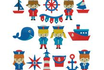 Nautical Inspirations (clipart, craft, and more) / Nautical Inspirations (clipart, craft, and more)