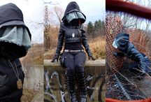NERF RUNNER INSPIRATIONAL / Immagini di ispirazione per un larp veloce, trash ed inconfondibilmente cyberpunk.