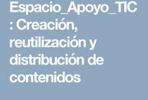 APOYO TIC / ESPACIO EN EL QUE SE VA A CONTEMPLAR TODO AQUELLO RELACIONADO CON LAS TIC