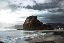 Let's give this beach another chance! Piha bay is definitely worth a visit! But wait till sunset