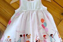 Couture petites - tissu Parade