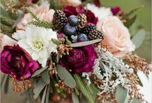 Blumendeko für die Hochzeit