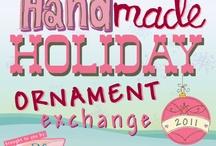 Blu Penny :: HandMade Holiday Ornament Exchange