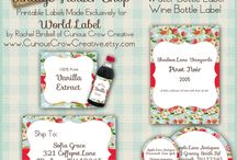 Printable Labels and Tags
