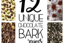 Chocolate barks