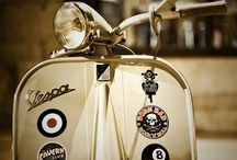Scooters / A board dedicated to the modern and vintage scooter