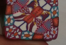 Kaleidoskop cane & cane tutorial & inspirace