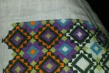 My own project / crazy quilt, sewing, embroidery