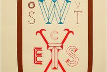Typographie / Love letters : Vous êtes un amoureux des lettres, des messages, et souhaitez l'afficher haut et fort.  Comme les artistes, jouez avec les mots, les caractères d'imprimerie pour vous offrir des compositions allant de l'abécédaire classique aux compositions beaucoup plus conceptuelles.
