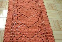 passadeiras/tapetes croche