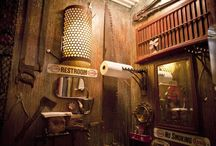 Steampunk Rooms