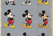 Mickey Mouse / ...is a funny animal cartoon character and the mascot of The Walt Disney Company. He was created by Walt Disney and Ub Iwerks at the Walt Disney Studios in 1928.