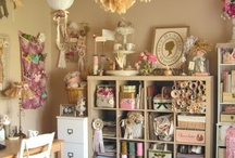 Craft Room Ideas / by Lin