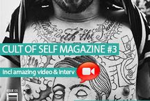 Cult of Self Magazine / Cult of Self is an ongoing activation that aims to cultivate conversation around the idea of 'self' and promote the individuals, groups and initiatives that encourage self-awareness. #caferacer #tattoos #bicycles #skate