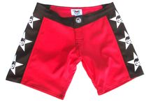 Women's MMA shorts / Shop the best martial arts MMA shorts for women and girls. Made in the USA for quality and a fit second to no other women's short on the market! Fighter girls®  shorts are great for MMA, Martial arts, boxing, kick boxing,body combat, Krav Maga,and much more extreme women sports! So ladies look great in the Fighter girls brand shorts made by women for women in the USA http://www.fightergirls.com/shop/board-shorts-women/board-short-style-307-widow-maker/