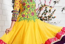 Readymade Salwar Kameez / Ready made salwars will be pre-stitched and can be available for selected size. For more collection http://www.chennaistore.com/salwar-kameez/Ready-Made-Salwar-Kameez
