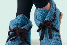 Crocheting: Slippers & Shoes & Socks