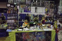 Artist Alley / A board for cute displays at artist alley <3