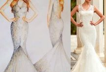 Aryanna Karen 2016 Bridal Gown Sketches / Aryanna Karen Bridal Fashion Illustraions