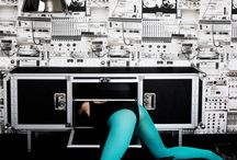 Furniture-Shooting# Music&Design / Music&Design Shooting at Showroom Dj ELA GEE  photo : Elisabetta Riccio