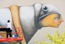 "The Unexpected: Festival of Murals / Sept. 3-12, 2015, Fort Smith held its inaugural mural festival, ""The Unexpected."""