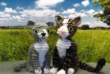 Crochet cats / by Nicole de Boer